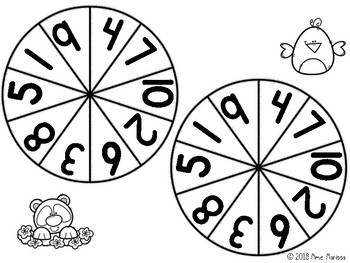 Bump! Bouscule! Math: Match numbers and tally marks