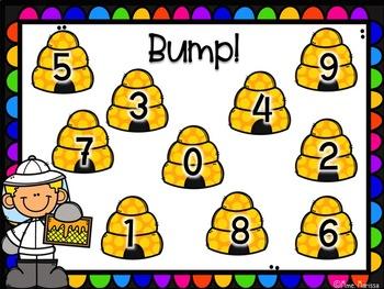 Bump! Bouscule! Math: +1/-1, +2/-2, +3/-3