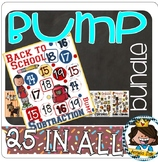 Addition / Subtraction -Bump Bundle~25 games to get you through the entire year!