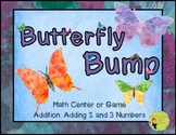 Bump: Butterfly Math Center, Game, and Printable