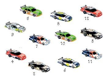 Adding to 12, Bump: Cars!