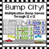 Bump City!  Multiplication Bump Games