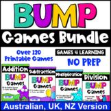 Bump Games Bundle [Australian UK NZ Edition]: Maths Games for Fact Fluency