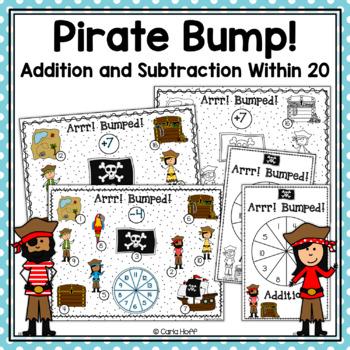 Pirate Bump!  20 Games for Addition & Subtraction Facts