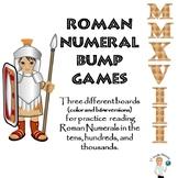 Bump Games for Roman Numerals