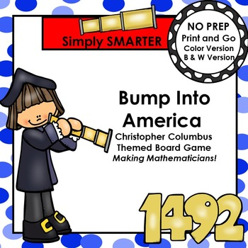 Bump Into America:  NO PREP Christopher Columbus Number Wo