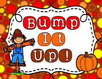 Bump It Up Bulletin Board Display Set - Fall Theme