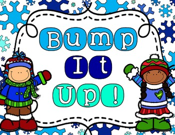 Bump It Up Bulletin Board Display Set - Winter Theme