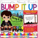 Bump It Up, Concepts About Print Module, Harry Potter Theme, 15 pages
