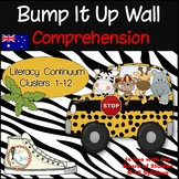 Bump It Up Wall - Australian Literacy Continuum - COMPREHENSION Clusters 1-12
