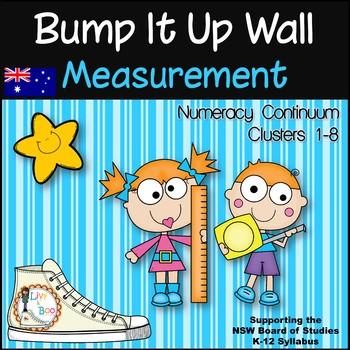 Bump It Up Wall - Australian Numeracy Continuum - MEASUREMENT