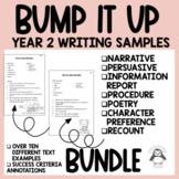 Bump It Up Wall Bundle - Year 2 Writing Samples