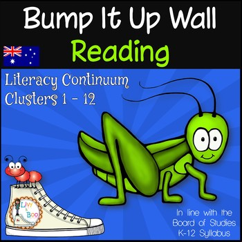Bump It Up Wall - Australian Curriculum Aligned - READING Clusters 1-12