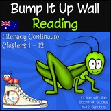 Bump It Up Wall - Australian Curriculum Aligned - READING