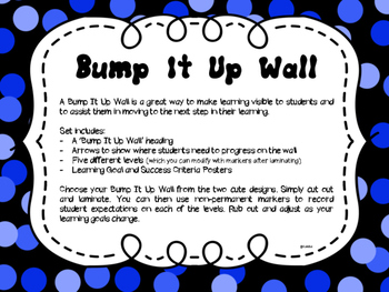 Bump It Up Wall - Visible Learning