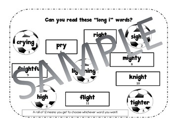 Bump It for Long i / igh sound - Super Fun Phonics / Spelling Practice