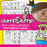 Bump & Jump Addition Fun!  {Print & Play Differentiated Math Games}