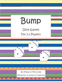 Bump: Math Dice Games Printer Friendly