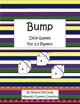 Bump: Math Dice Games Printer Friendly