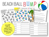 Bump Math Game - Addition Facts 1-18 Score Sheet and Number Line Beach Ball Bump
