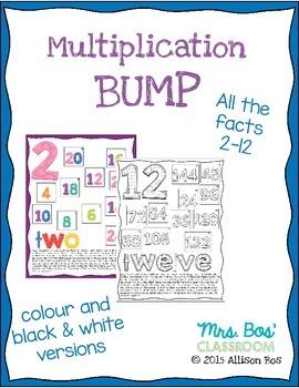 Bump Multiplication Games  2-12