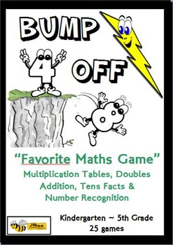 """""""Bump Off"""" Number Facts: 25 Favorite Maths Games"""