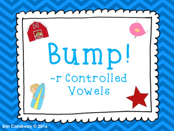Bump! R-Controlled Vowels Version