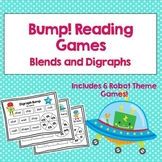 Bump Reading Games: Blends and Digraphs