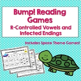 Bump Reading Games: R Controlled Vowels and Inflected Endings