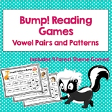 Bump! Reading Games: Vowel Pairs and Patterns