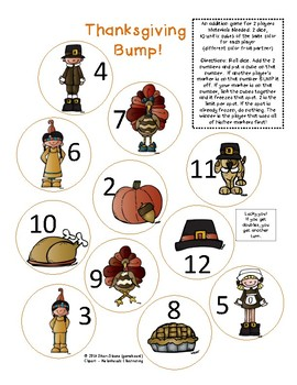 Bump! Thanksgiving Version