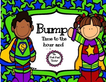 """Time to hr & 1/2 hr - Playing """"Bump"""" Game"""