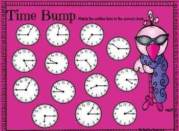 """Time to the Quarter Hour - Playing """"Bump"""""""