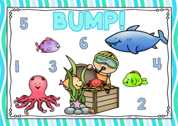 Bump! Under The Sea Themed Game Board