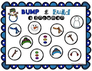 Bump and Build a Snowman!