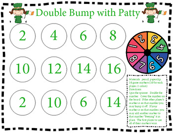Bump and Double Bump With Patt