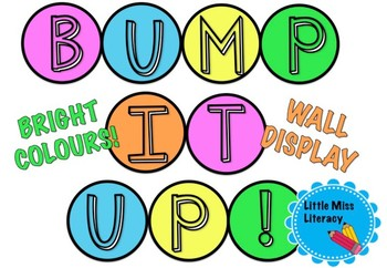 Bump it Up Wall Display - Bright colours