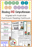 Bump it Up Wall *Reading AND Comprehension Bundle* Australian Curriculum (3-6)
