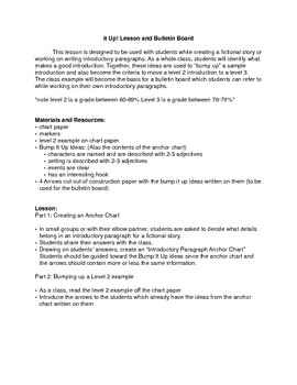 Bump it Up! Writing and Improving Introductory Paragraphs