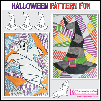 Halloween Coloring Pages - Halloween Art Activities