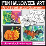 Halloween Coloring Pages | Halloween Art Activities