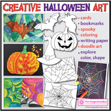 Halloween Coloring Pages | Halloween Art Activities