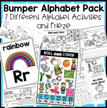 Bumper Alphabet Pack FREE Letter Aa Sampler