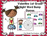 Valentine Themed Printable Sight Word Game for First Grade