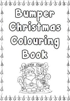 Bumper Christmas Colouring Book