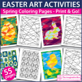 Easter Coloring Pages - Creative Art Activities