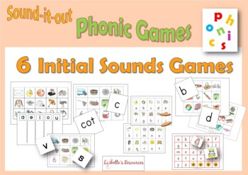 Bumper Pack of Initial Sounds Games to Print and Play
