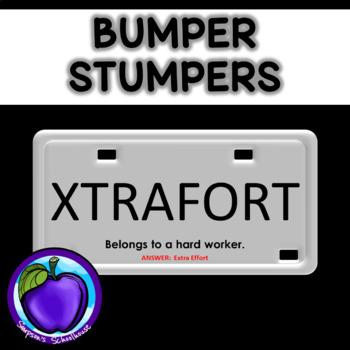 Bumper Stumpers Game