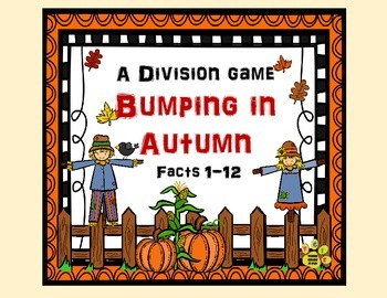 Bumping in Autumn - A Division (Facts 1-12) Game