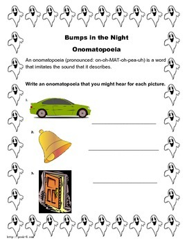 Bumps In the Night Book Study